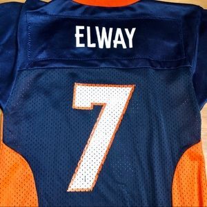 Girls Denver Broncos Vintage Elway Football Jersey